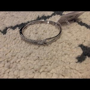 NWT Kate Spade infinity silver bracelet